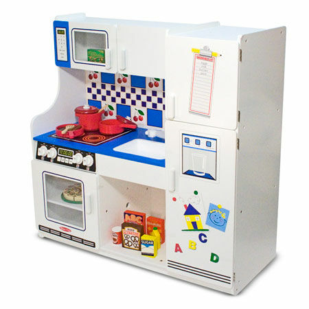 How to choose the right play kitchen set for your kids ebay for Toy kitchen set