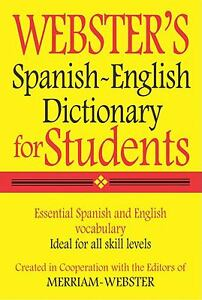 Webster s spanish englis h dictionary for students spanish edition