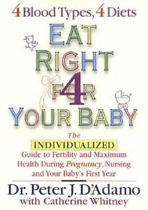 EAT-RIGHT-FOR-YOUR-BABY-by-DR-PETER-J-DADAMO-HB-DJ-2003