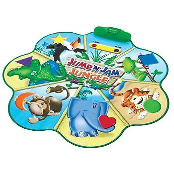 Learning Resources Jump 'n' Jam Jungle Talking Floor Mat