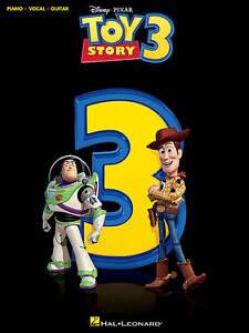 Toy Story 3 Songbook Sheet Music Piano Vocal Guitar Hal Leonard Pixar B46 S168