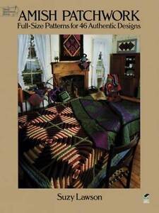 Amish Patchwork (Dover Quilting),Lawson, Suzie,New Book mon0000047320