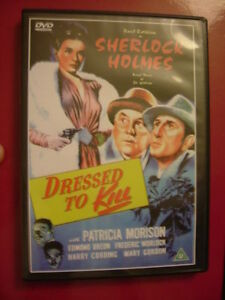Basil Rathbone - Sherlock Holmes: Dressed to Kill [DVD], New DVD, Basil Rathbone