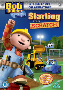 Bob The Builder - Starting From Scratch (DVD, 2010)