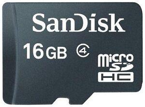 SanDisk microSDHC 16GB Class 4 Speicherkarte Speichermedium Speicher Micro SD - Konstanz, Deutschland - SanDisk microSDHC 16GB Class 4 Speicherkarte Speichermedium Speicher Micro SD - Konstanz, Deutschland