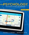 Psychology : The Science of Mind and Behavior by Ronald E. Smith and Michael W. Passer (2010, Hardcover) : Ronald E. Smith, Michael W...