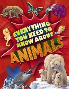 Davies  Nicola-Everything You Need To Know: Animals  BOOK NEW