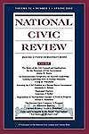 National Civic Review, No. 1, Spring 2002: Issues in Local Government Structure
