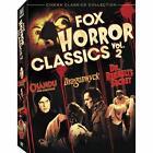 Fox Horror Classics Vol. 2 (DVD, 2008, 3-Disc Set, Checkpoint; Pan and Scan; Sensormatic)