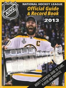National-Hockey-League-Official-Guide-Record-Book-2013-National-Hockey-Leagu