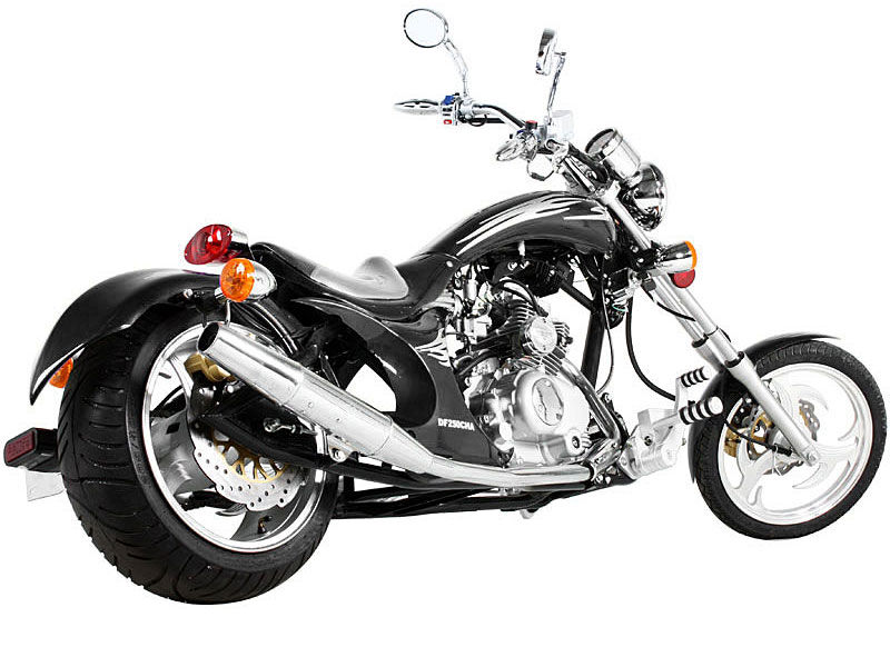 Fishtail Exhaust Tips For Motorcycles