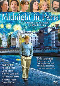 Midnight in Paris, Brand New DVD, FREE SHIPPING