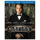 The Great Gatsby (Blu-ray/DVD, 2013, 2-Disc Set, Includes Digital Copy; UltraViolet)