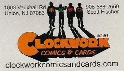 Clockwork Comics and Cards