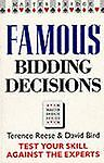 Famous Bidding Decisions, Terence Reese and David S. Bird, 0575062959