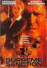 Supreme Sanction (DVD, 2000, Canadian)
