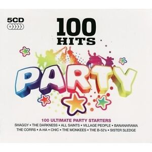 100-Hits-Party-5-Cd-Boxset-Brand-New-Factory-Sealed