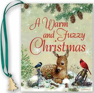 NEW-A-Warm-and-Fuzzy-Christmas-Mini-Book-Holiday-by-Evelyn-Beilenson