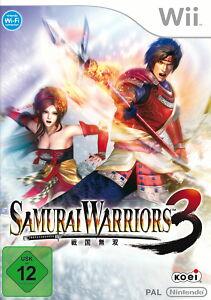 Samurai-Warriors-3-Nintendo-Wii-Action-Spiel-Game