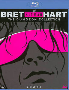 WWE-Bret-Hit-Man-Hart-Dungeon-Collection-DVD-2013-2-Disc-LIKE-NEW