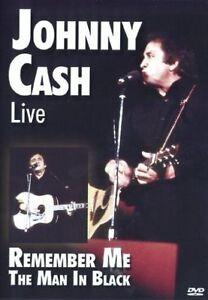 JOHNNY CASH - REMEMBER ME  THE MAN IN BLACK DVD N/S