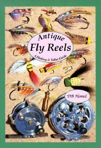 Antique fly fishing reels price guide collector 39 s book for Old fishing rods worth money