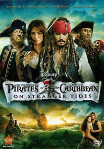 Pirates of the Caribbean: On Stranger Ti DVD