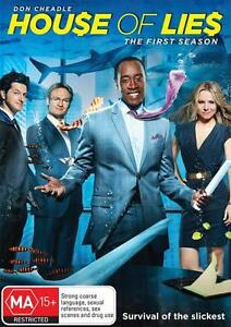 House Of Lies : Season 1 (DVD, 2013, 2-Disc Set)