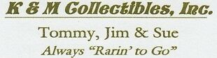 KM Collectibles Inc