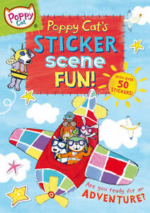 Poppy Cat's Sticker Scene Fun, Jones, Lara, New Book
