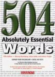 504 Absolutely Essential Words, Murray Bromberg and Julius Liebb, 0764128159