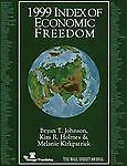 1999 Index of Economic Freedom, Bryan T. Johnson, 0891952454