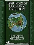 1999 Index of Economic Freedom, Bryan T. Johnson, 0891952454