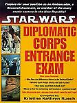Diplomatic-Corps-Entrance-Exam-1997-Paperback-Star-Wars-collectable
