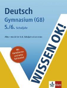 Wissen ok! Deutsch, Gymnasium (G8) 5./6. Schuljahr von Claus Gigl (2008,...