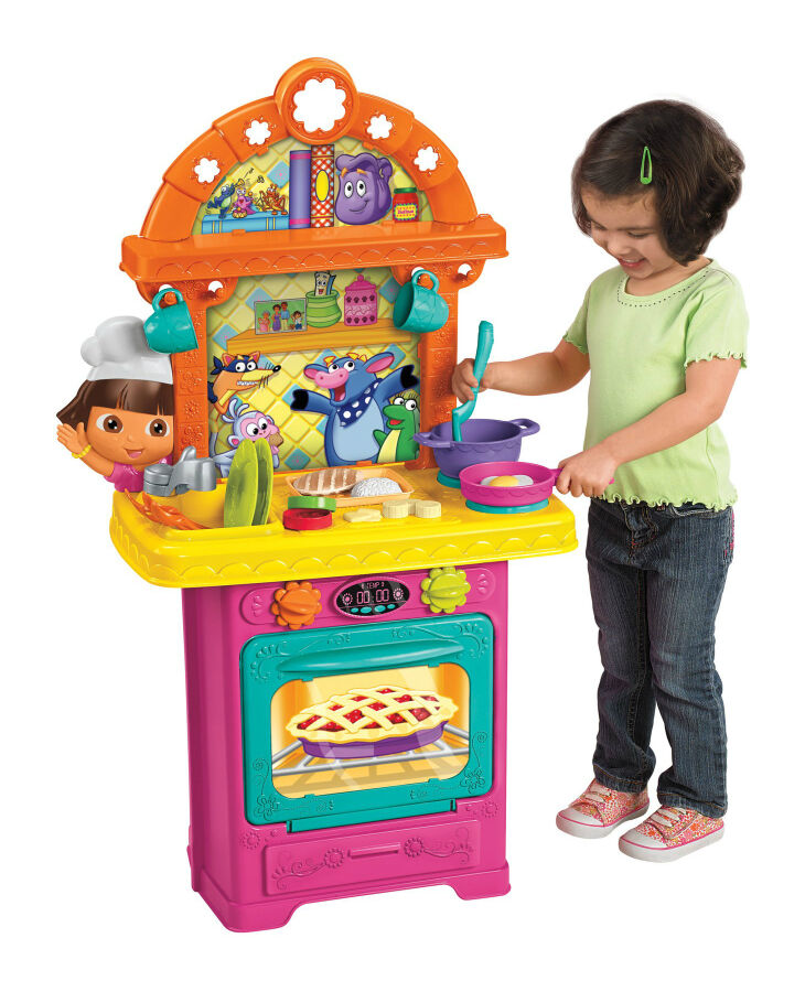 Top 6 tips on purchasing educational dora the explorer for Kitchen set for 5 year old