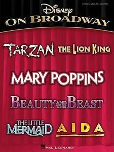 Disney on Broadway (PVG) by Hal Leonard Corporation (Paperback, 2008)