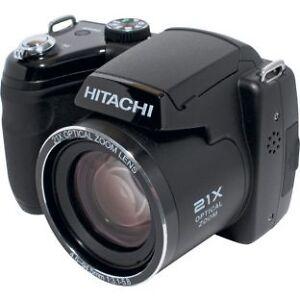 HITACHI-16MP-BRIDGE-CAMERA-HBC161E-HBC-161E-Black-21xOptical-Zoom-HBC-161-NEW