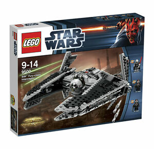 Lego Star Wars Sith Fury-class Interceptor (9500) BRAND NEW SEALED!!