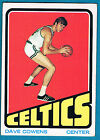 Dave Cowens Basketball Trading Cards Lot