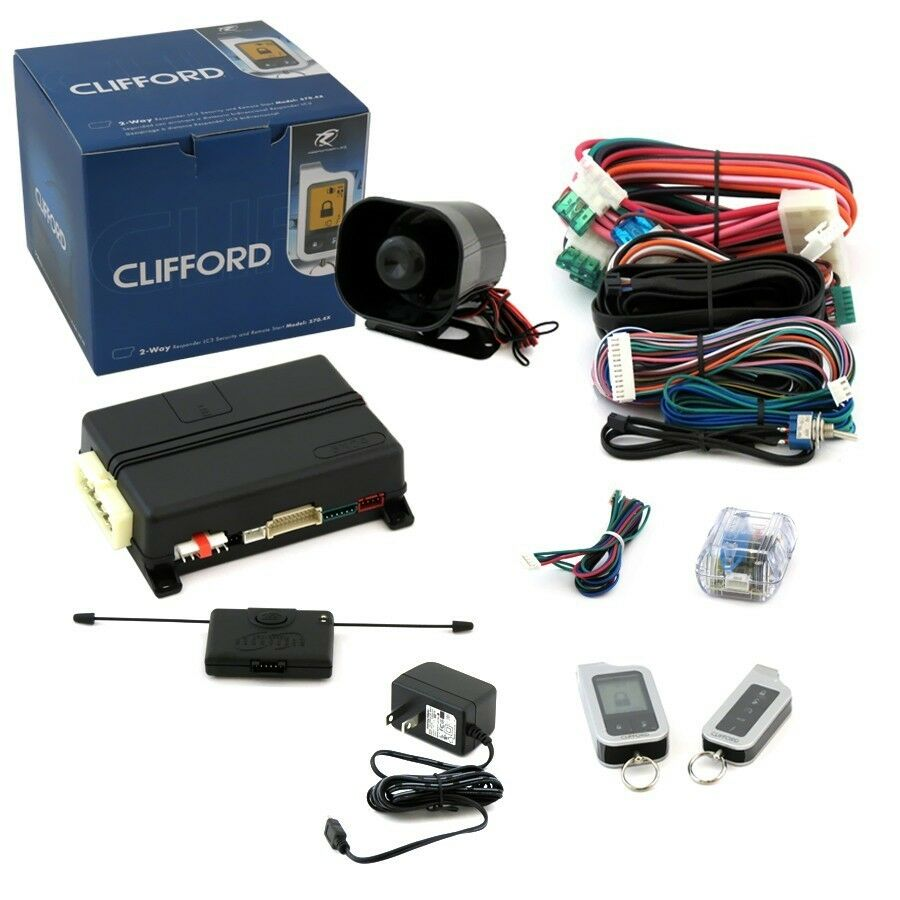 Top 10 Car Alarms Commando Alarm Wiring Harness The Clifford 5704x Has A Progressive Door Trigger Which Is An Intelligent Sensor That Evaluates Threat Level It Sensors For Doors And Trunk As