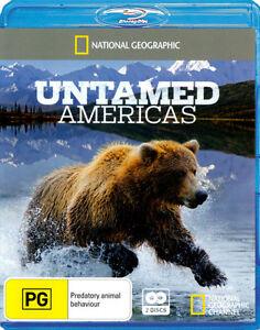National Geographic - Untamed Americas (Blu-ray, 2012, 2-Disc Set) Region Free