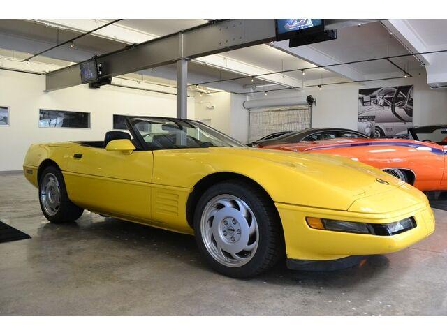Yellow C4 Corvette Html Autos Weblog