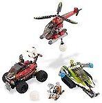 LEGO 4568012 World World World Racers Blizzards Peak 8863 b94b19