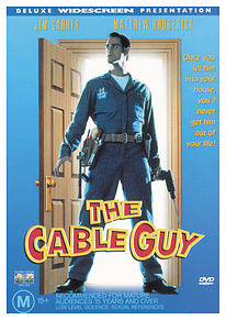 The Cable Guy (1996) Jim Carrey - NEW DVD - Region 4