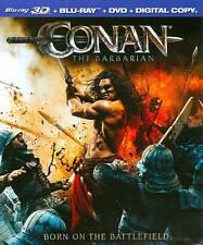 Conan the Barbarian (Blu-ray/DVD, 2011, 2-Disc Set, 3D/2D) BRAND NEW! FAST SHIP!