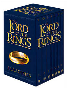 The Lord of the Rings Trilogy Books - JRR Tolkien 7 Book Box Set Slipcase New