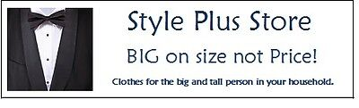 Style Plus sizes for Big and Tall