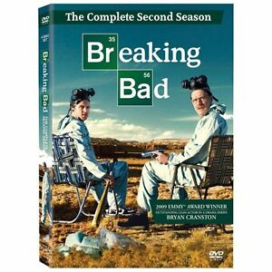 BREAKING BAD The Complete Second Season.... (DVD 4 Disc Set).. NEW