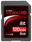SanDisk 8GB SD Camera Memory Cards